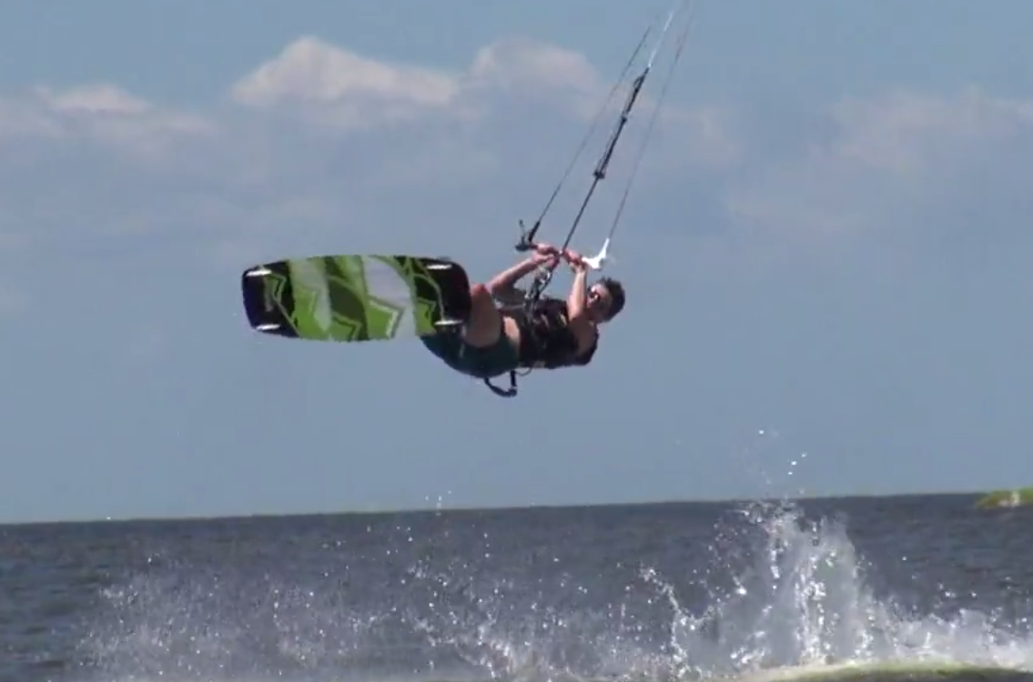 Kiteboarding the Outer Banks of North Carolina