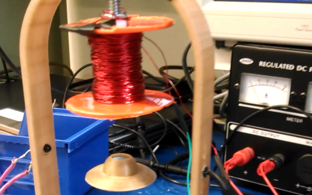 Magnetic Levitator with Arduino and PID